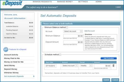 Automatic Deposits 1 5